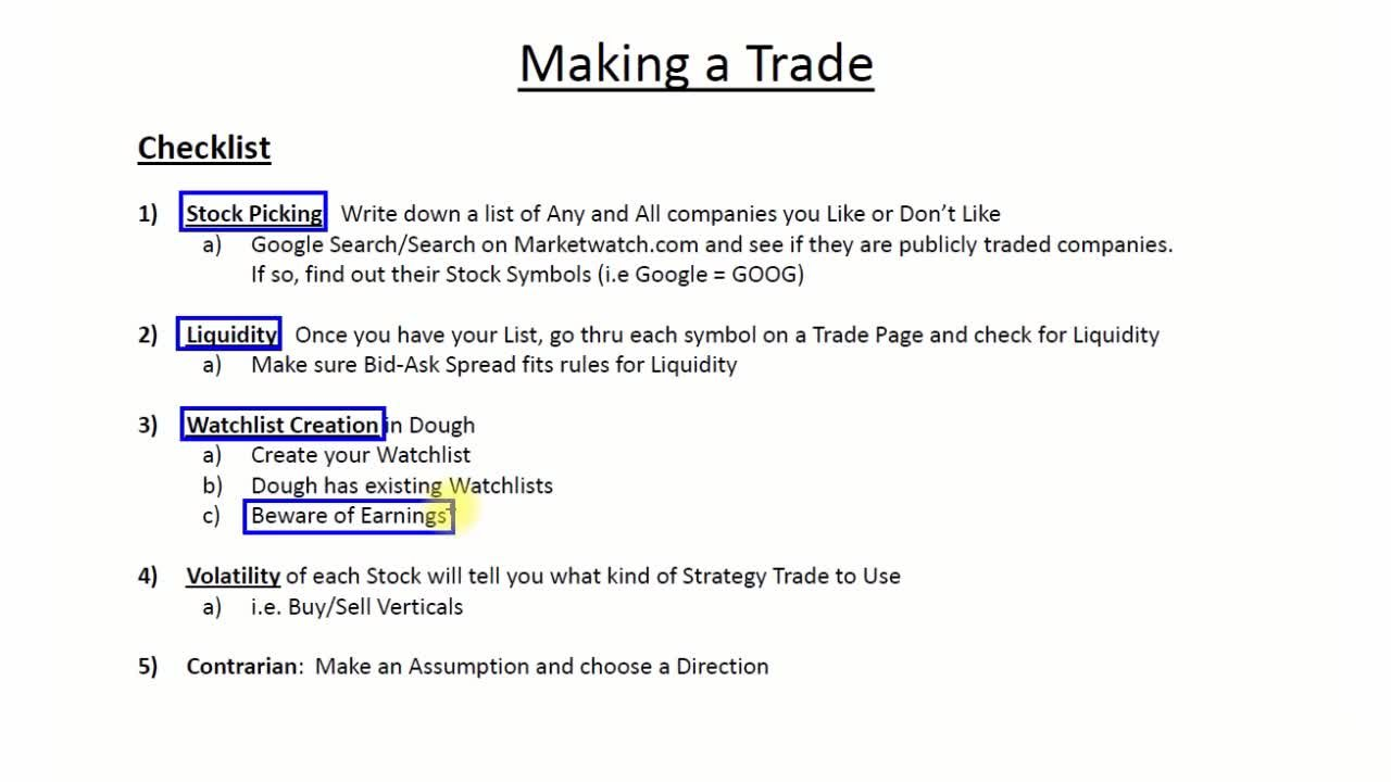 Option Trading For Rookies Complete Guide To Trading Stock Options