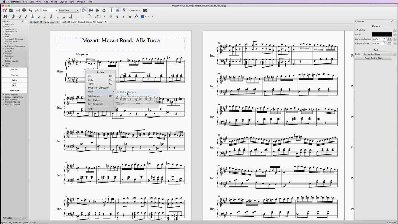 MuseScore: Mastering Music Notation Free Software   Jason