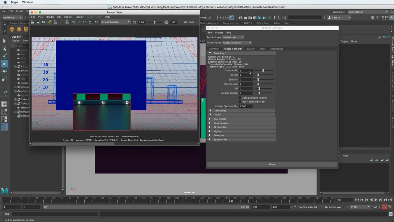 3D Animation & Data Visualization in Autodesk Maya   Lucas