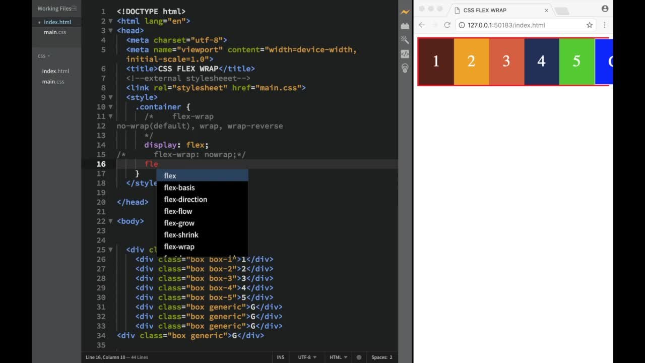 HTML and CSS Tutorial for Beginners with Website Projects | John