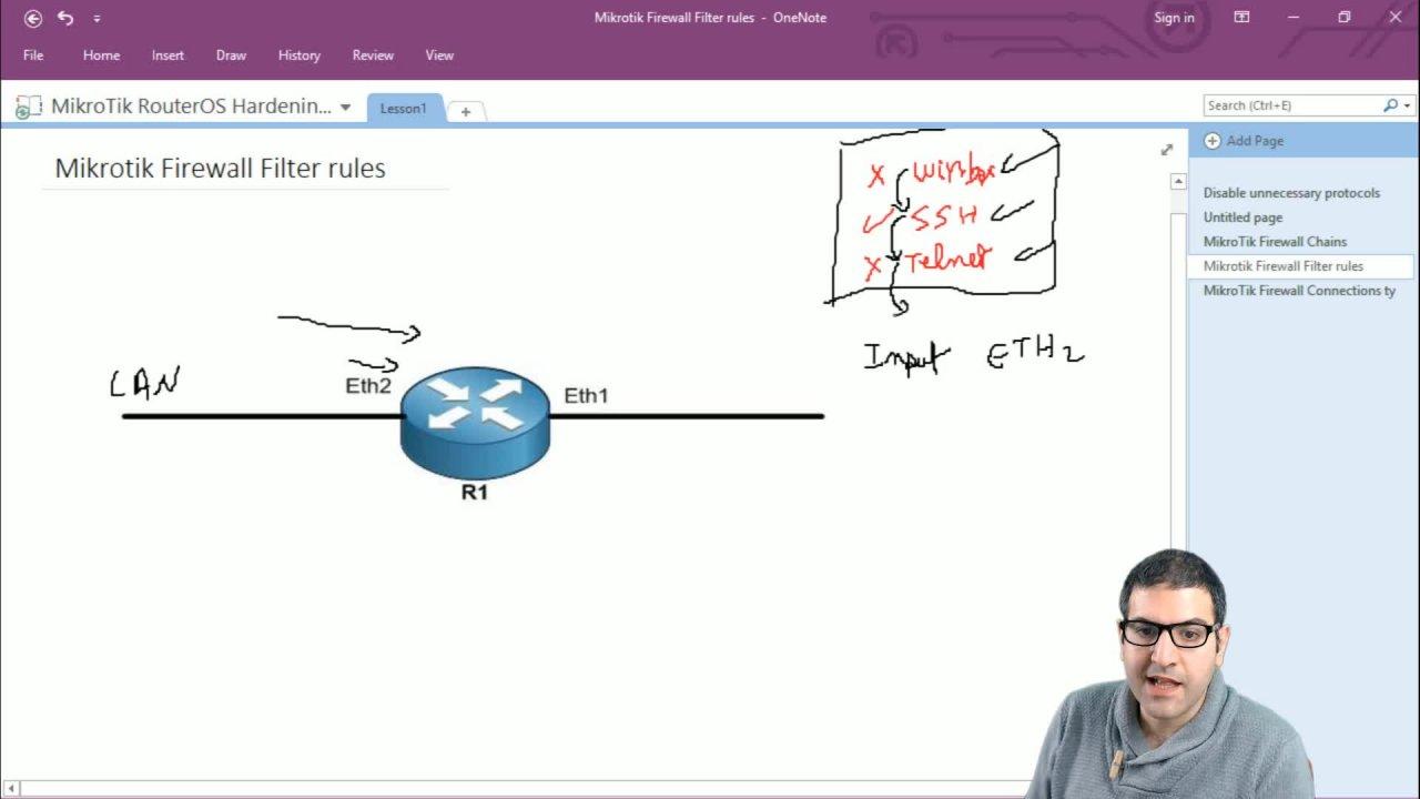 MikroTik RouterOS Hardening LABS | Maher Haddad | Skillshare