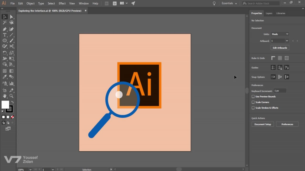 Adobe Illustrator CC Full Course: Getting Started ( Part One