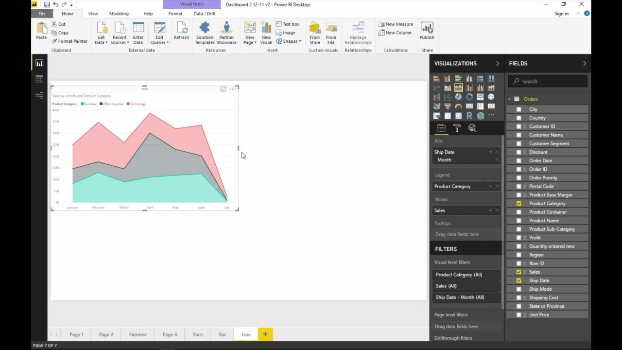 Microsoft Power BI - Complete Beginners Guide to Financial