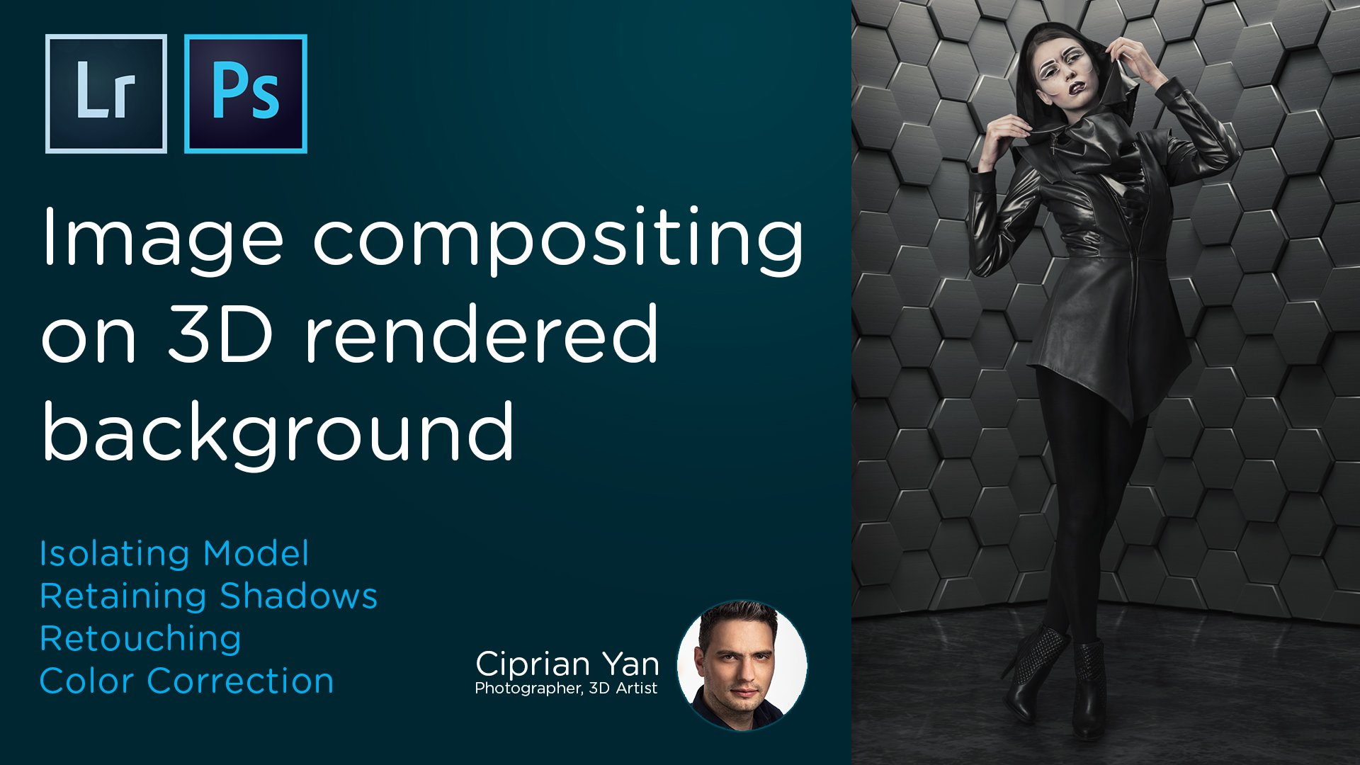 Image compositing on 3D rendered background | Ciprian Yan | Skillshare