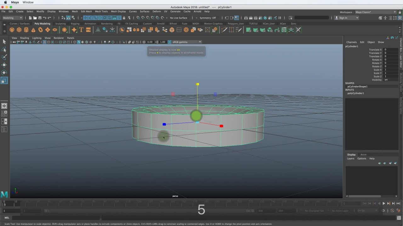 introduction to 3d graphics and animation using maya w cd rom graphics series