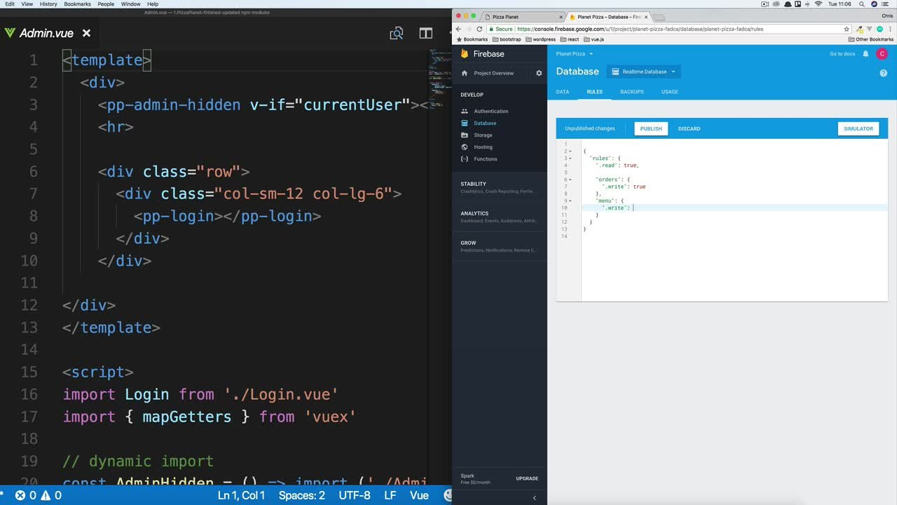 Vue js: Build a Full Stack App With Firebase, Vuex & Vue Router