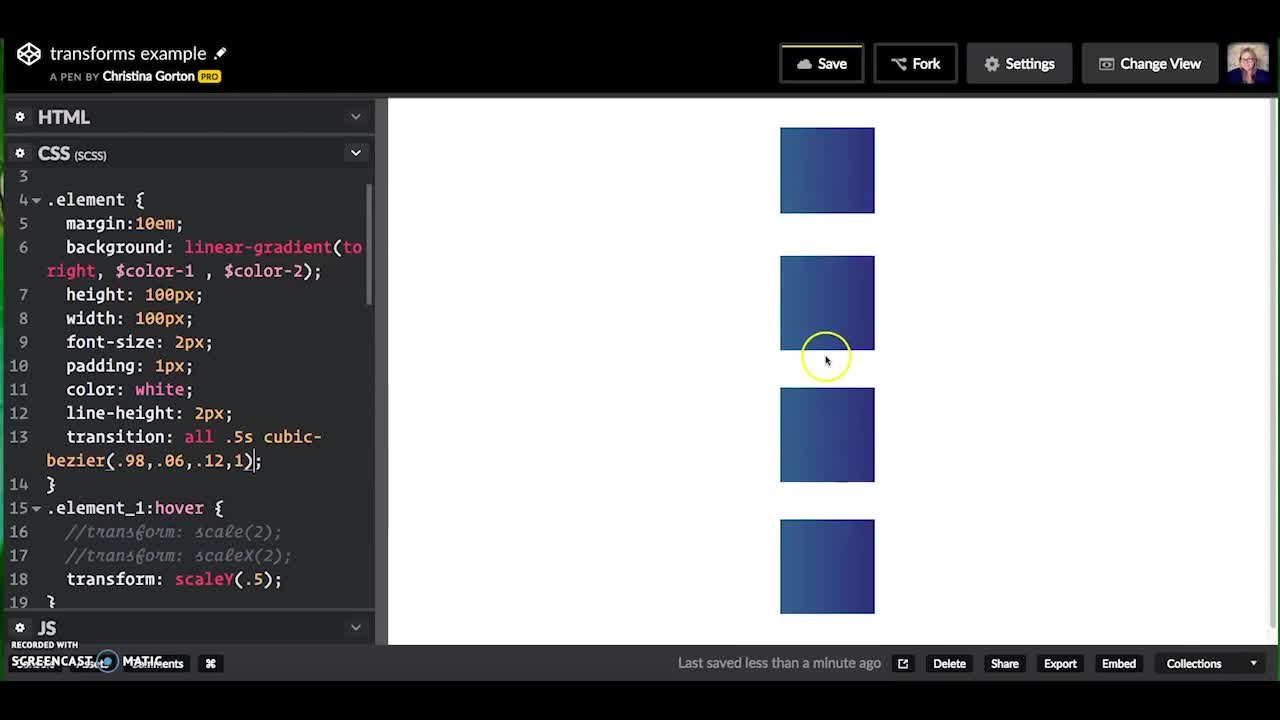 Learn Code by Creating Art: Developing CSS Skills in CodePen