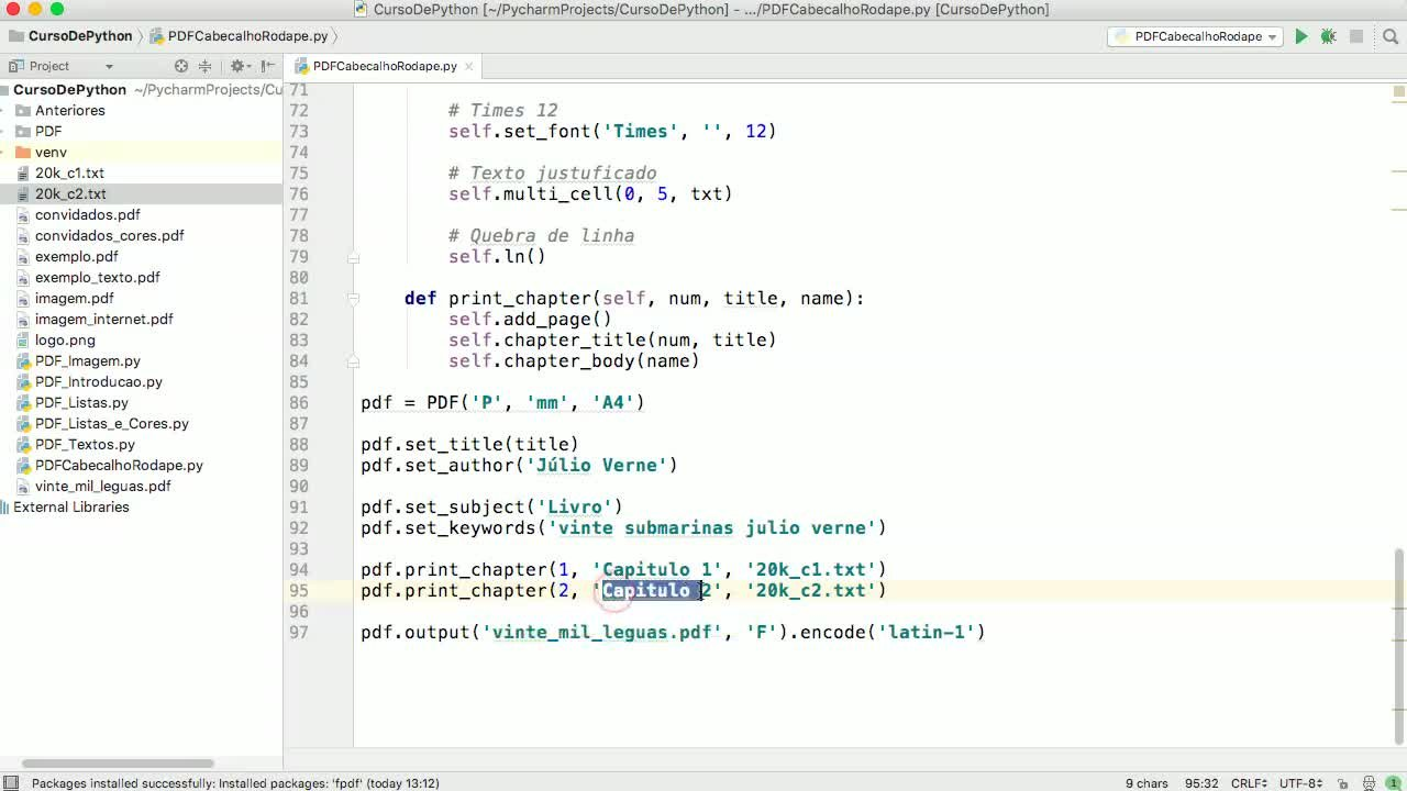 Curso de Python 3 | Diego Mendes Rodrigues | Skillshare