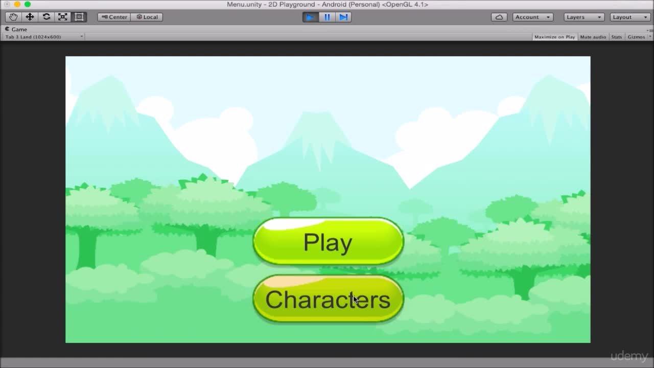 Unity® 2D Mobile Platformer Course - Part 1 : Build A Start