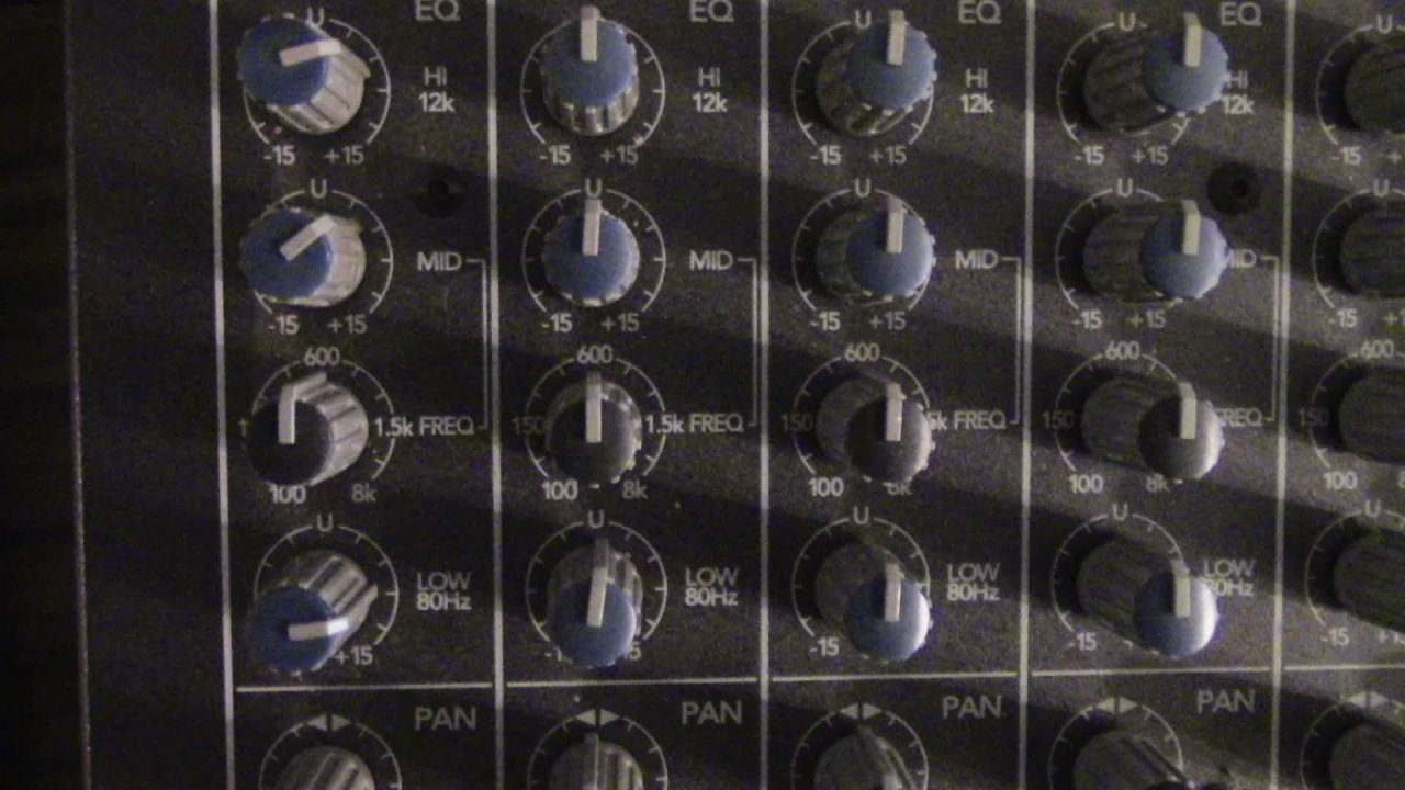 Operating the Audio Mixer, A Beginner's Guide to Mixing Live Sound