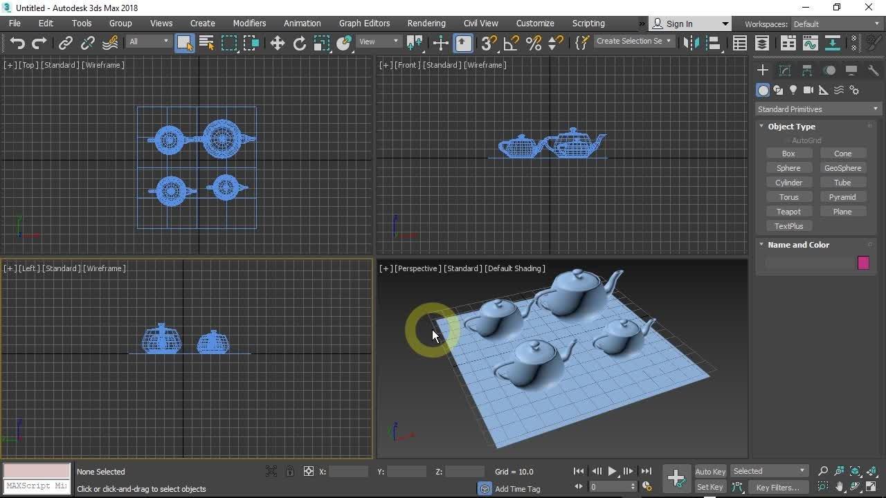 3DS Max for beginners : 3D modeling fundamentals | Widhi Muttaqien