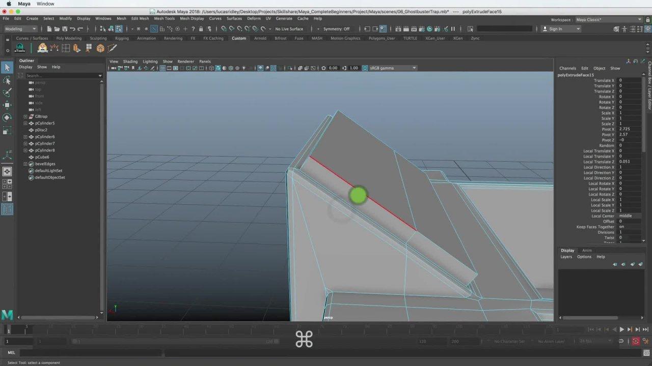 Maya for Beginners: 3D Modeling   Lucas Ridley   Skillshare