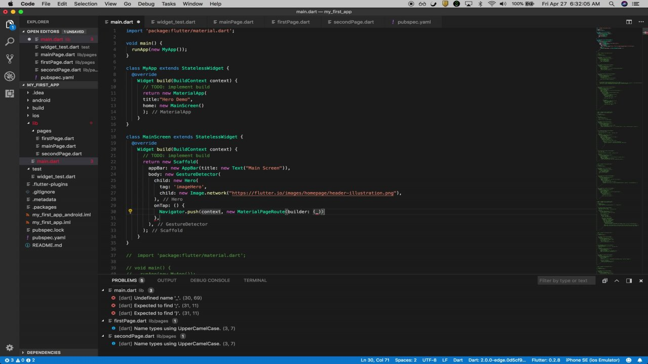 Flutter Zero to Professional: cross platform development for iOS