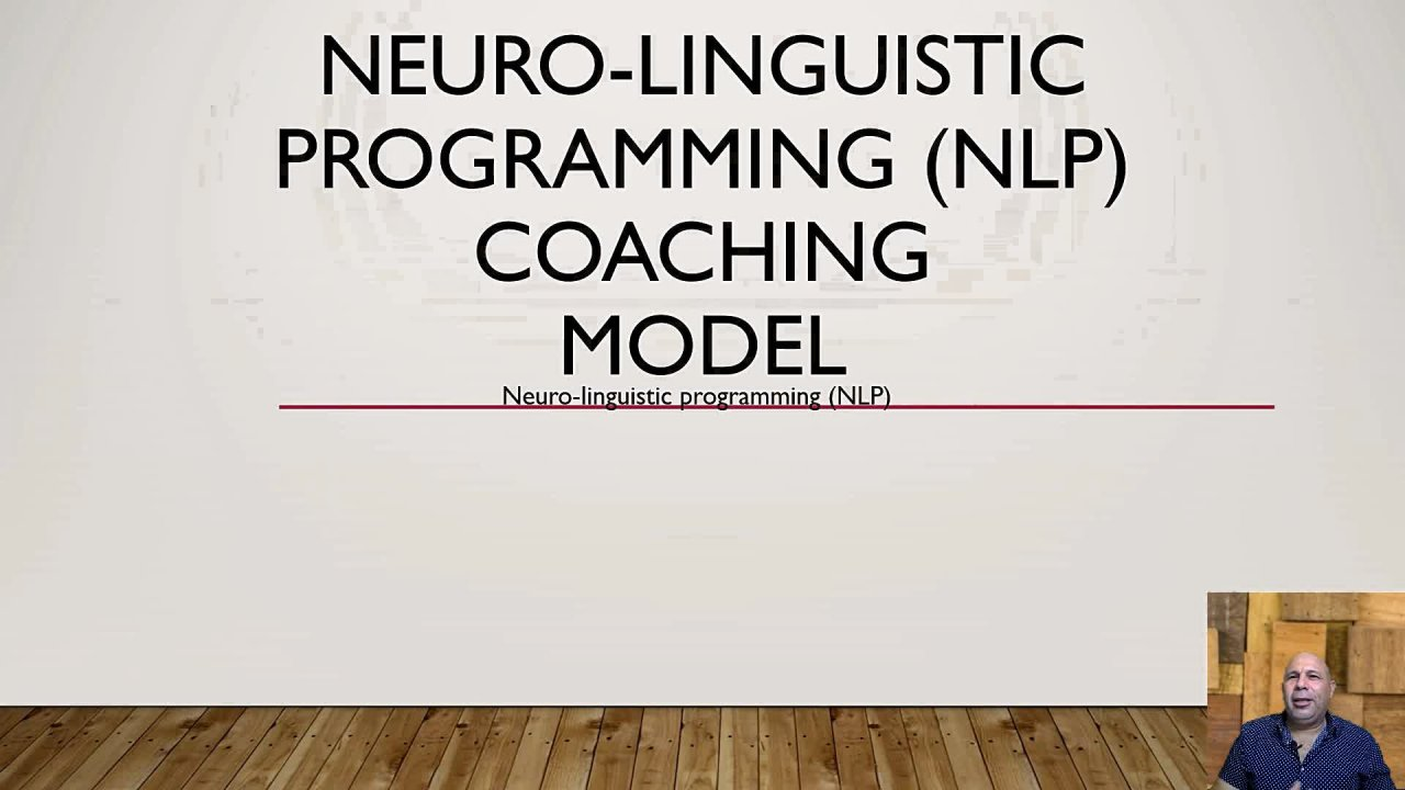 Life coach; Neuro-linguistic-programming  coaching principles model.