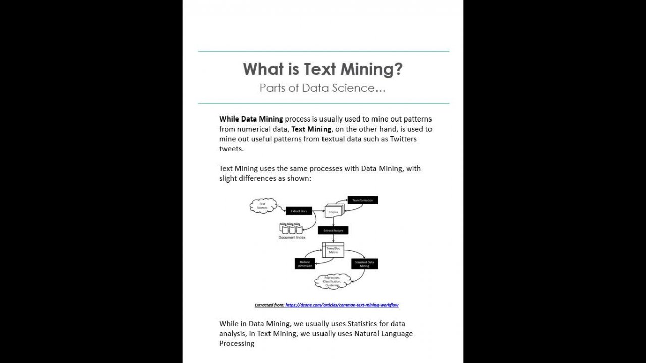 Introduction to Data and Text Mining using DSTK 3