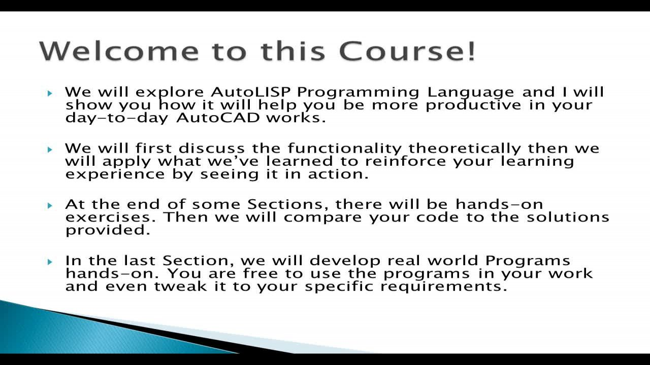 Practical AutoLISP Programming - Beginner to Advanced | Arnold H