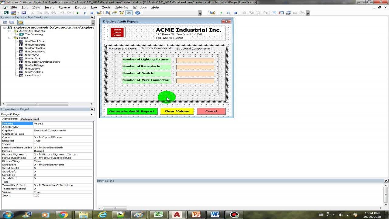 AutoCAD VBA - Beginner Course | Arnold H  | Skillshare