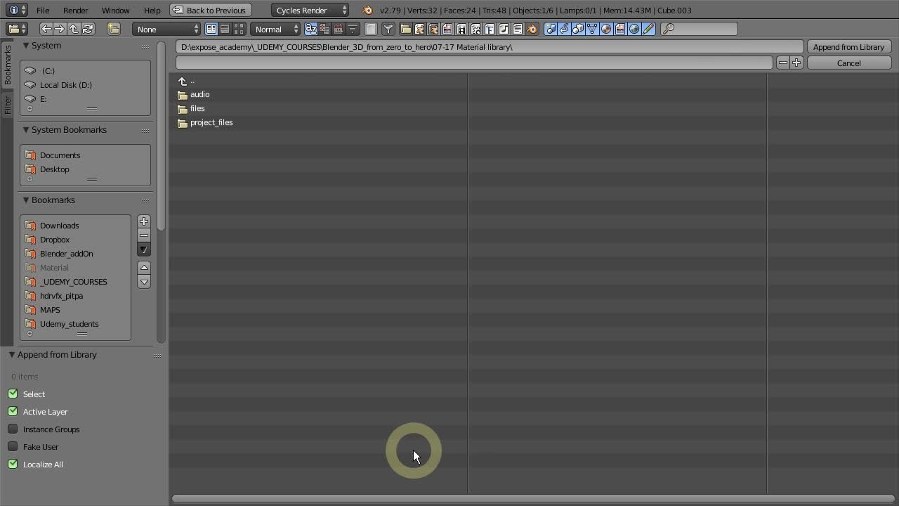Blender 3D Cycles rendering essentials | Widhi Muttaqien