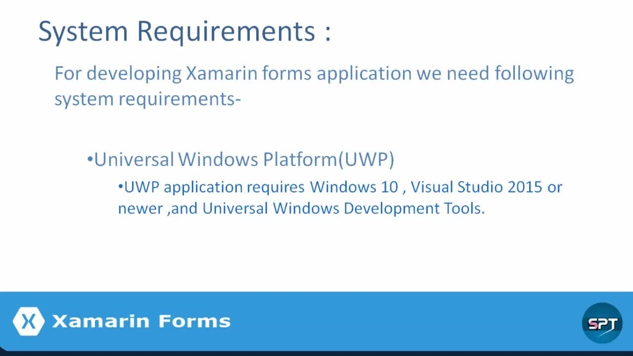 Learn Xamarin Forms Mobile App Development Basics | Subrata