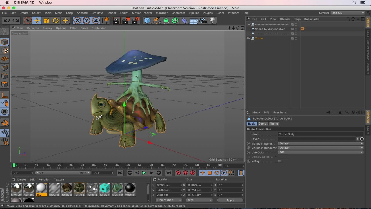 Cinema 4D Masterclass: The Ultimate Guide to Cinema 4D | Ozgur