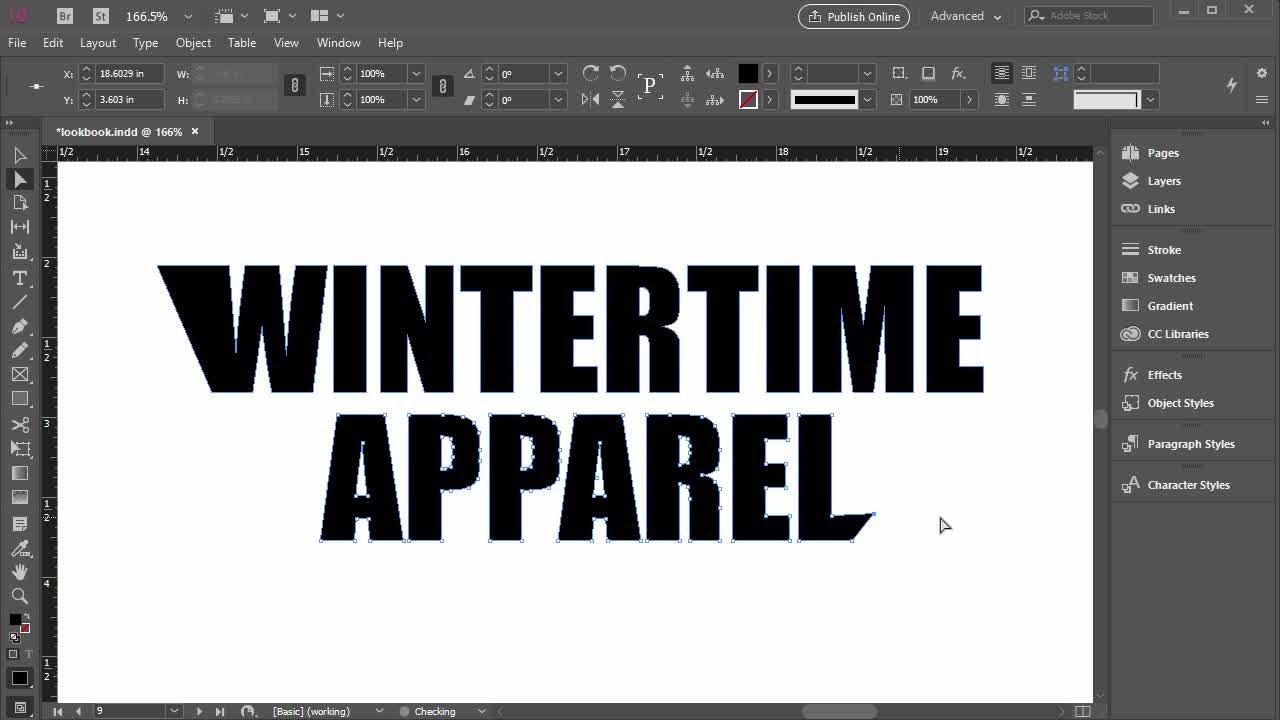Adobe InDesign for Beginners - Design a Lookbook (Complete