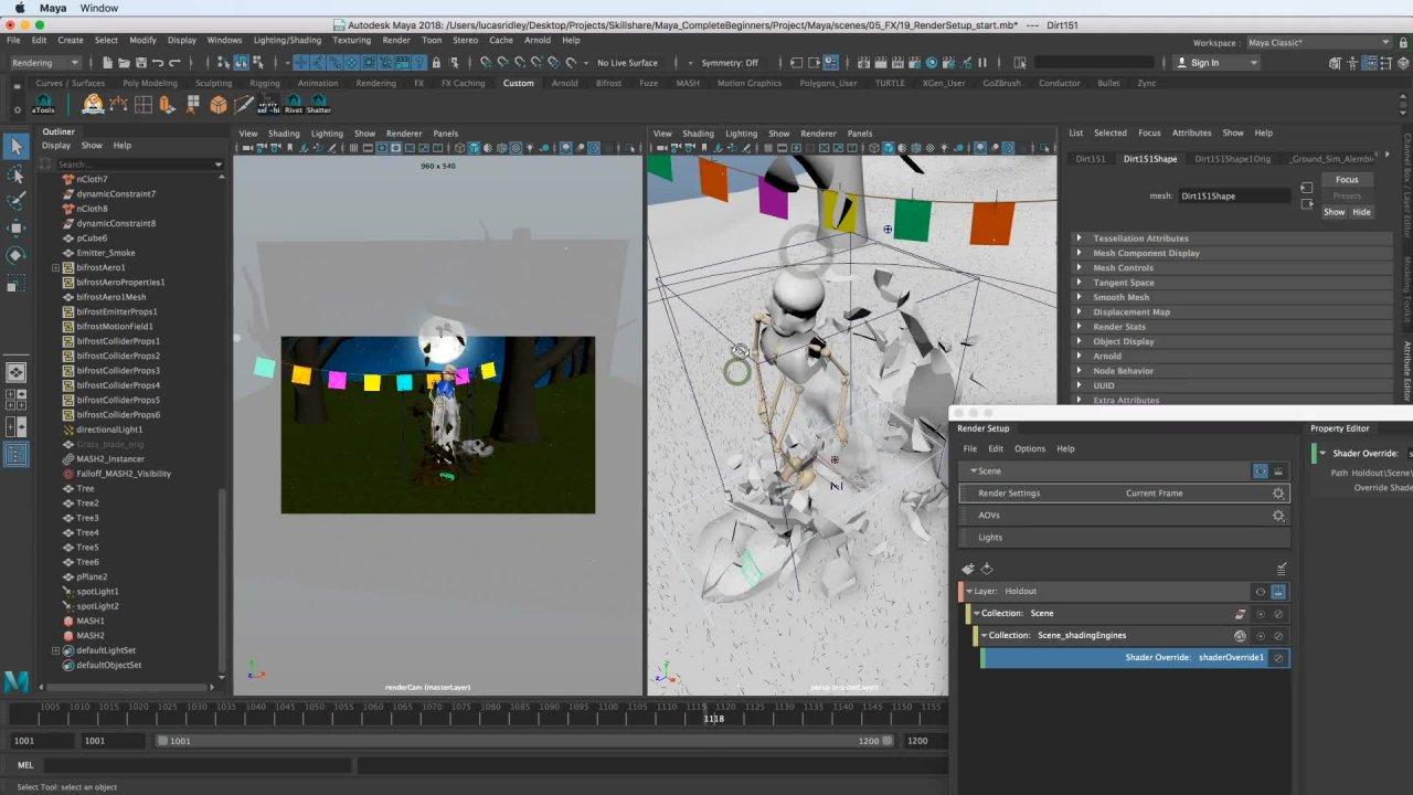 Maya for Beginners: Dynamic FX | Lucas Ridley | Skillshare