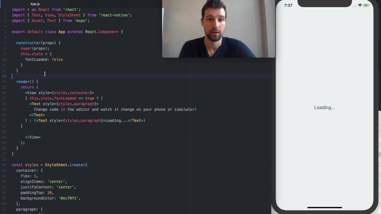 Build your first app with React Native and Expo | Rusty Courses