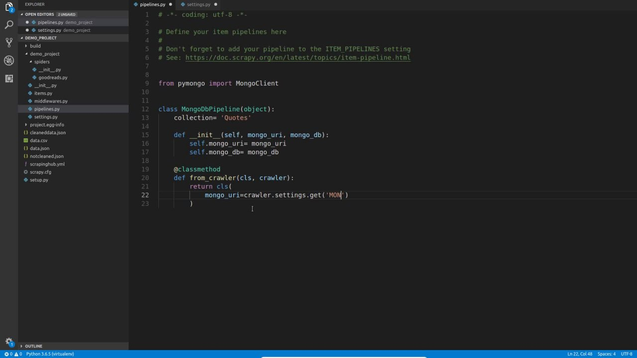 Modern Web scraping With Python using Scrapy and Splash | Ahmed