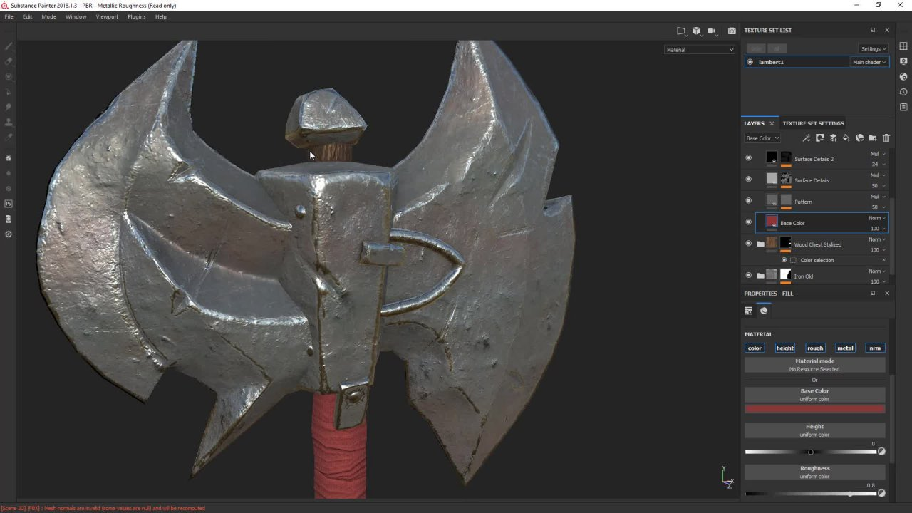 Weapon Modeling & Texturing For Game - Complete Pipeline | Nexttut