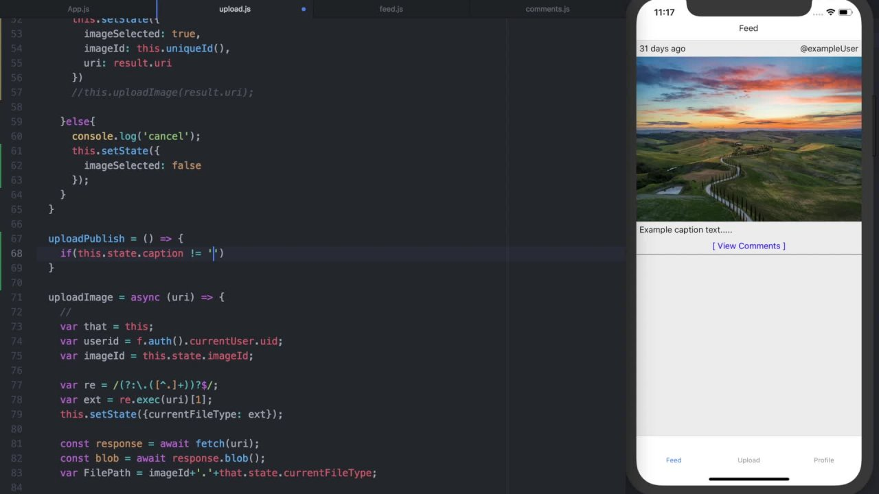 Build the original Instagram with React Native & Firebase | Rusty