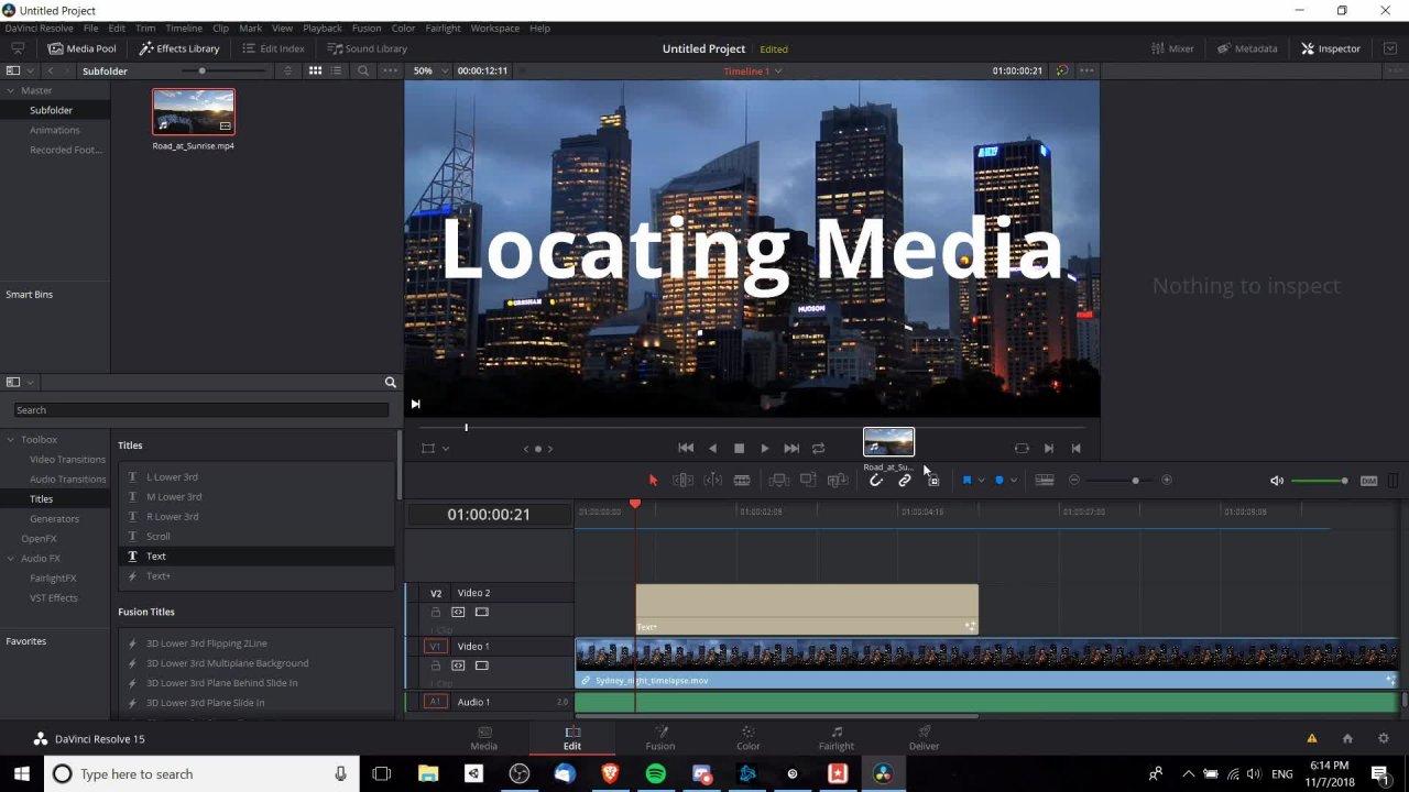Complete DaVinci Resolve 15 Video Editing   Christopher