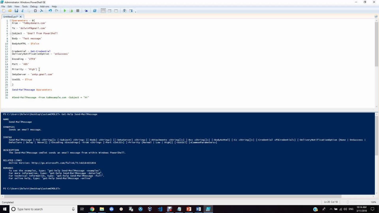 The Advanced PowerShell Scripting Crash Course 2019 - Learn