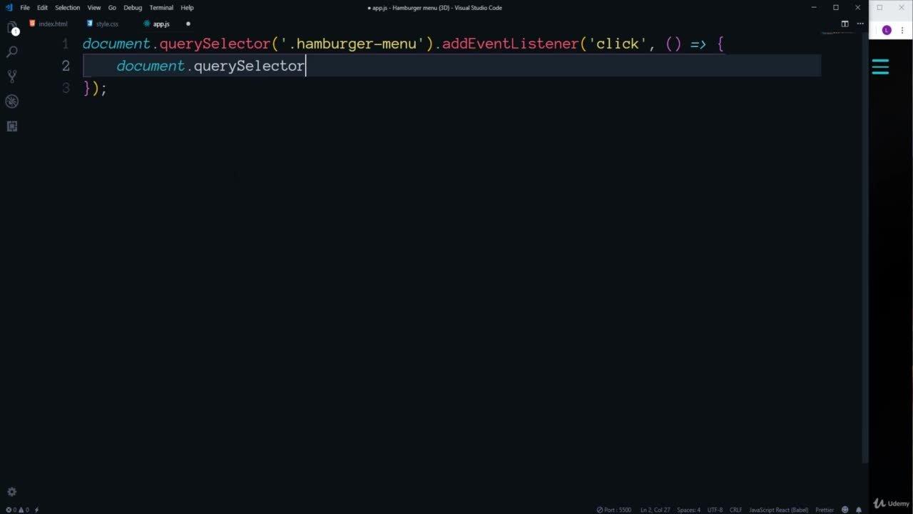 HTML, CSS, JavaScript - Build 6 Creative Projects | George Lomidze