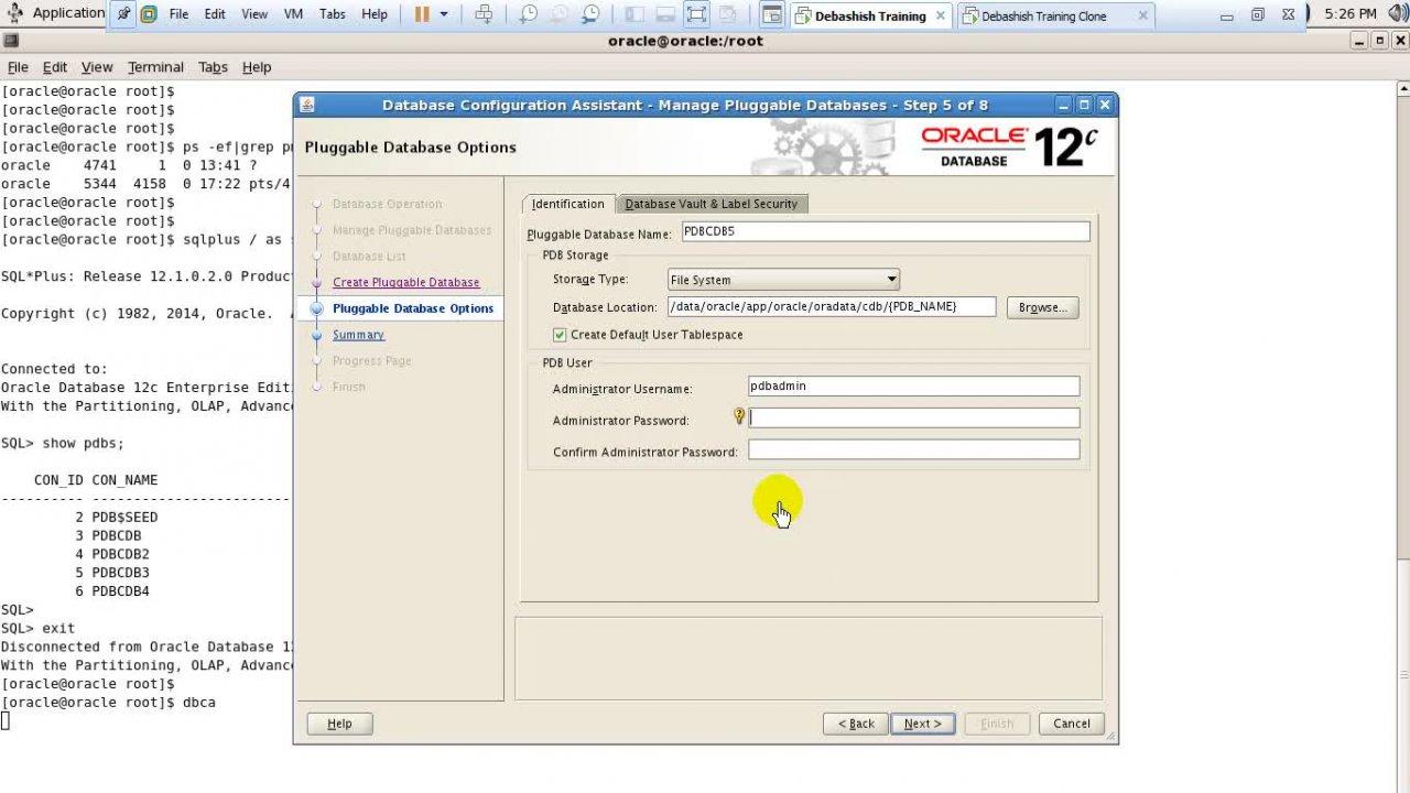 Oracle 12C database Administration - Oracle dba   Ankush Thavali