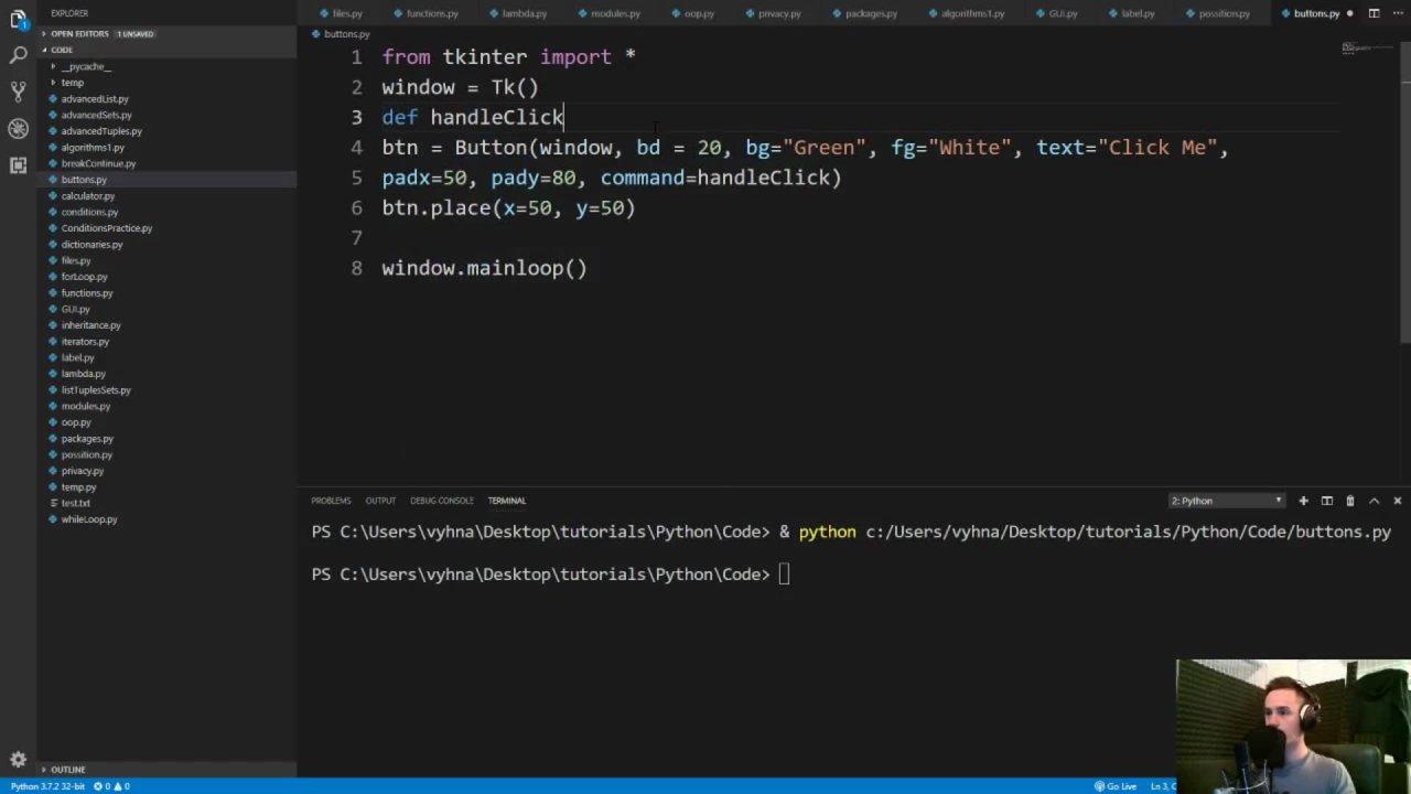 Python Masterclass: Learn Python 3 Programming Fast | Lukas Vyhnalek