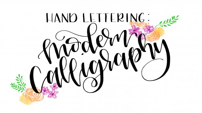 Hand Lettering 4 Easy Steps To Modern Calligraphy