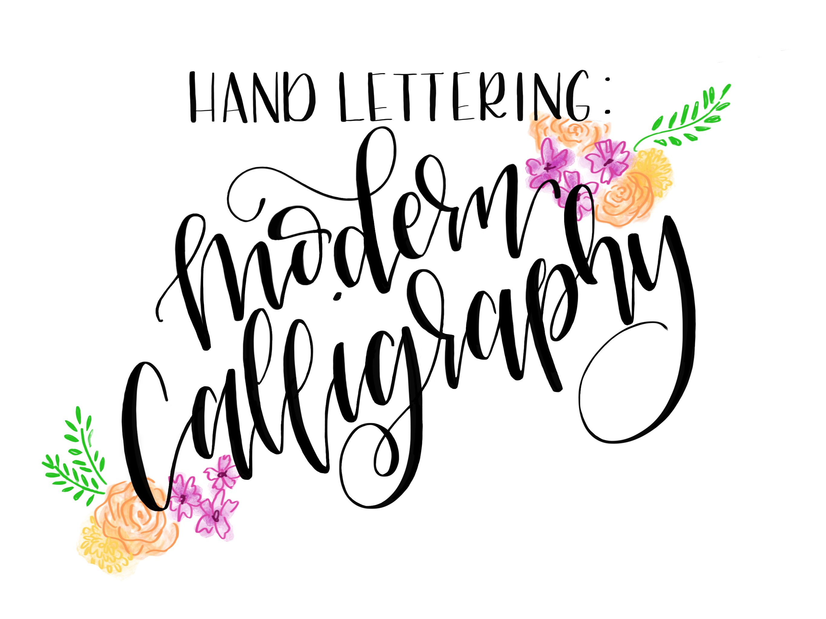 Hand lettering easy steps to modern calligraphy peggy