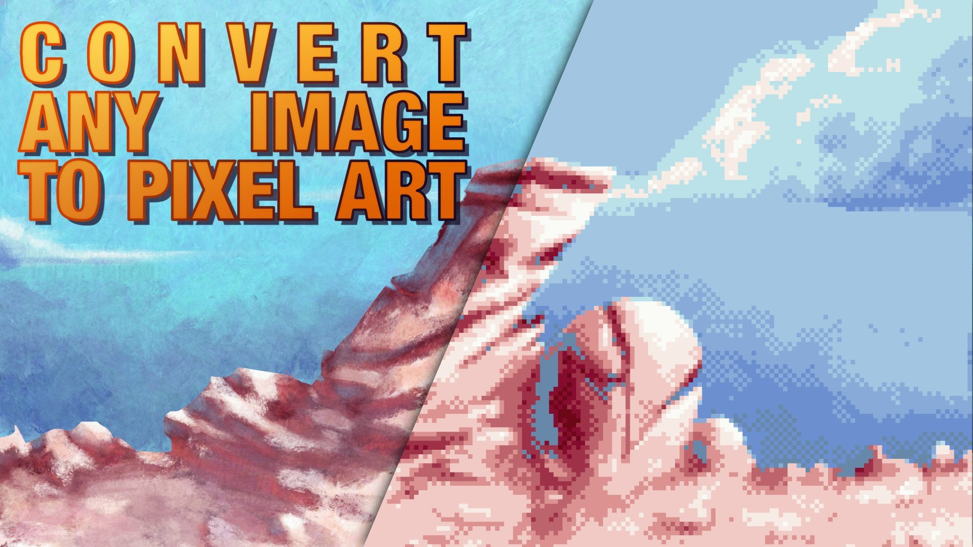 Convert Any Image to Pixel Art | Simon Sanchez | Skillshare