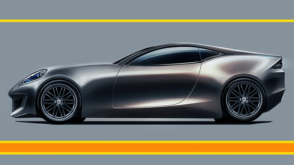 The Easy Way To Car Design Sketching In Photoshop Marouane Bembli