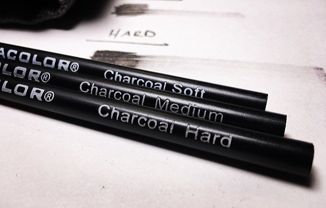 Charcoal Drawing Basics | For Beginners | Messer Creations ...