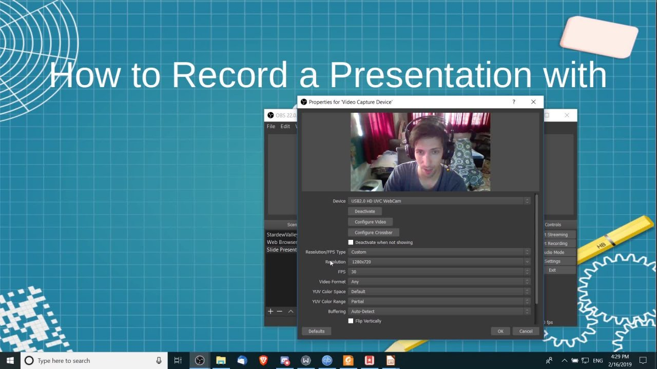 OBS - How to Record and Stream Videos with Open Broadcaster
