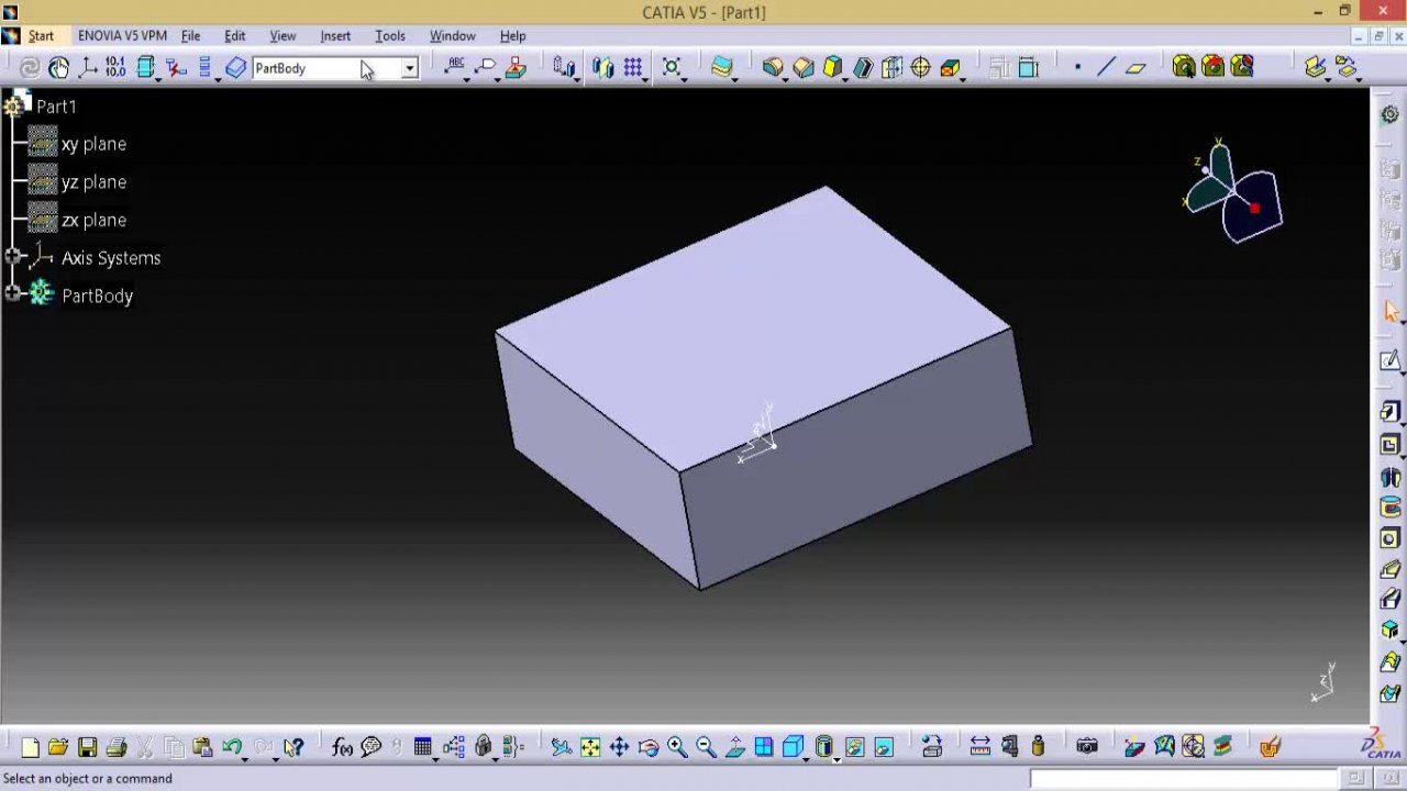 Master CATIA part design workbench in just 2 hours !! : Deep