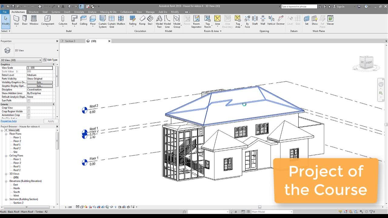 Autodesk Revit From Beginner to Professional using revit 2019 and 2020
