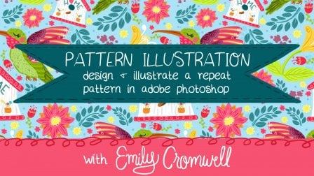 Pattern Illustration: Design and Illustrate a Repeat Pattern