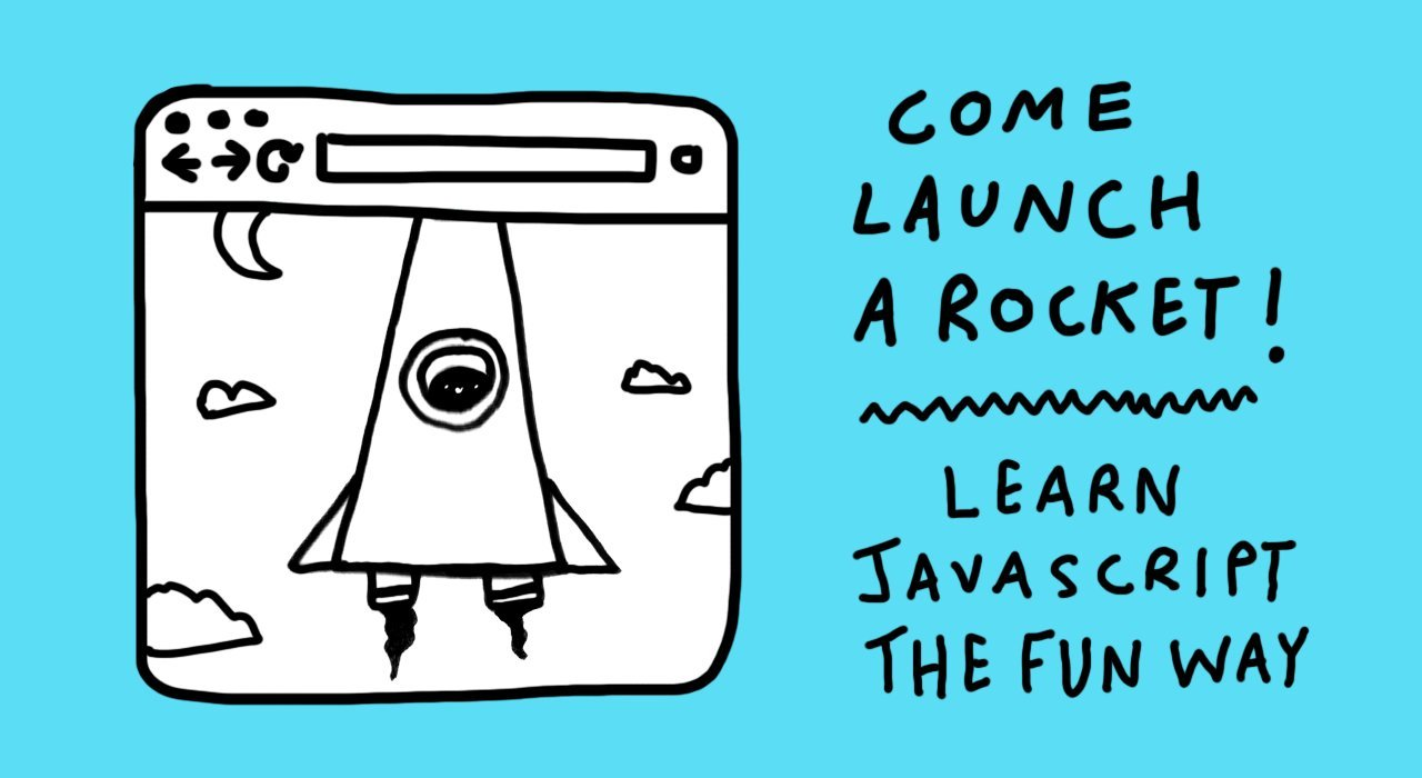 Skillshare 100% Free : Launch A Rocket: Learn JavaScript Basics The Fun Way!