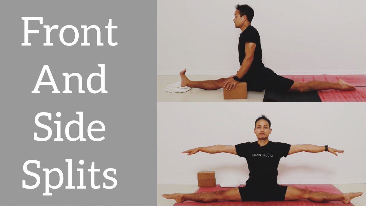 How to get your Front and Side Splits ( SIMPLE, FAST, EASY ) for