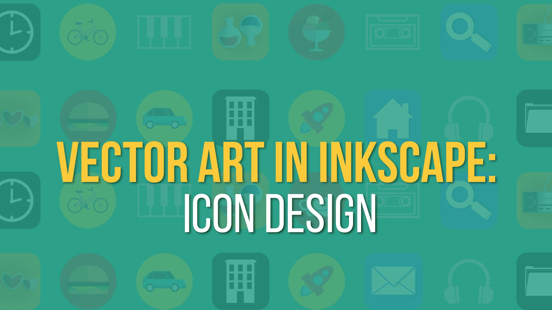Vector Art in Inkscape - Icon Design