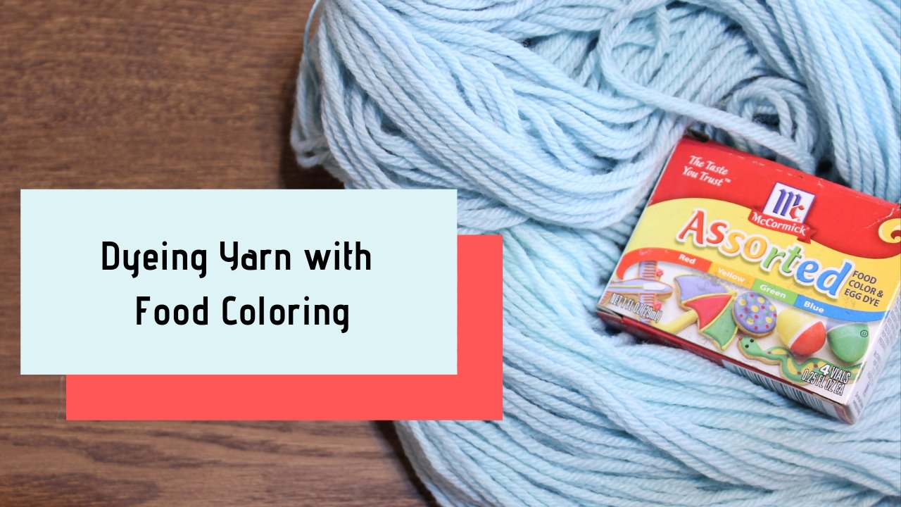 An Introduction to Dyeing yarn with Food Coloring | Sarah Devlin ...