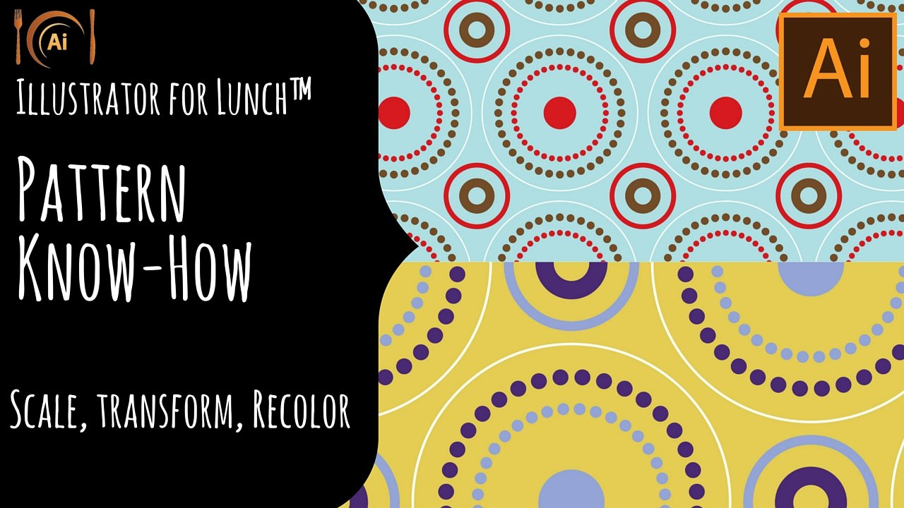 Illustrator for Lunch™ - Pattern Know-how - Install