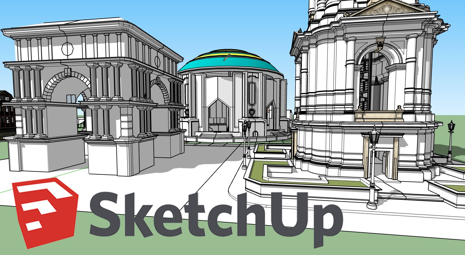 3D Modeling using SketchUp Pro 2019 for 3D Designers and Architects